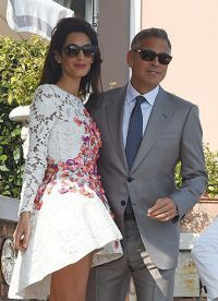 вторая супруга Клуни Амаль Аламуддин