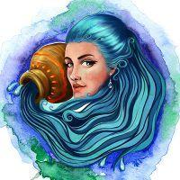 Женщина водолей