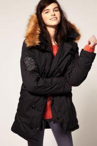 Женская куртка-парка 1