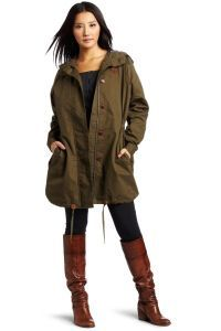 Женская куртка-парка 5