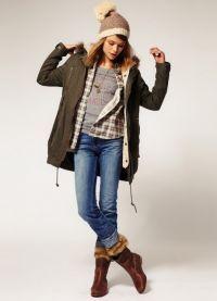 женская зимняя куртка парка 9