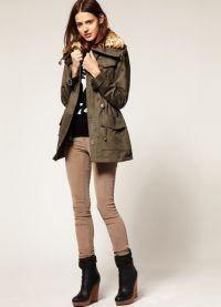 женская зимняя куртка парка 2