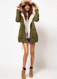 женская зимняя куртка парка 3