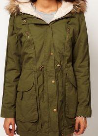 женская зимняя куртка парка 4