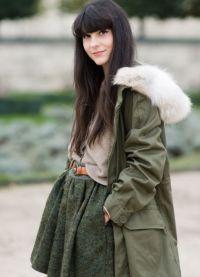 женская зимняя куртка парка 5