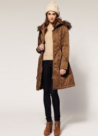 женская зимняя куртка парка 7