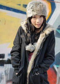 женская зимняя парка с натуральным мехом9