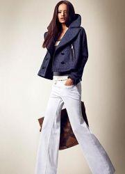 Женские белые брюки 2013