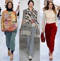 Женские брюки зима 2012