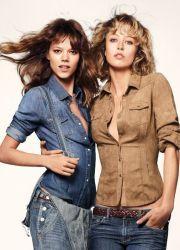 Женские джинсовые рубашки 2013