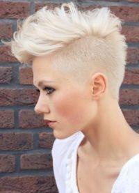женские короткие стрижки 2016 на тонкие волосы 9
