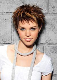 женские короткие стрижки 2016 на тонкие волосы 6