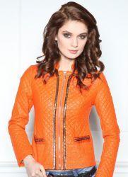 Женские кожаные куртки – мода 2014