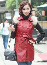 Женские кожаные жилетки 2013