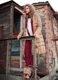 Женская куртка парка 1