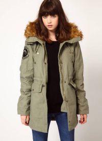 Женская куртка парка 3