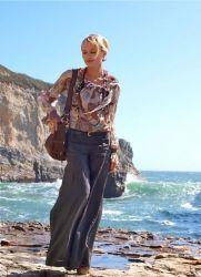 Женские льняные брюки 2013