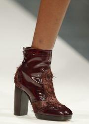 Женские осенние ботинки 2013