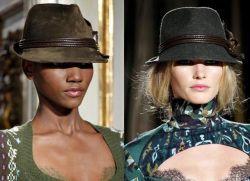 Женские шляпы — осень-зима 2015-2016