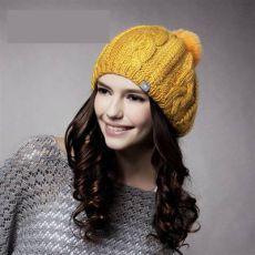 Женские вязаные шапки 2015-2016