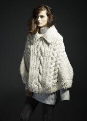 Женские вязаные свитера 2014