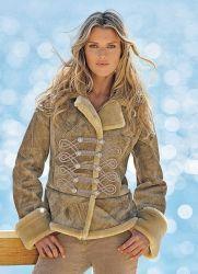 Женские замшевые куртки 2013