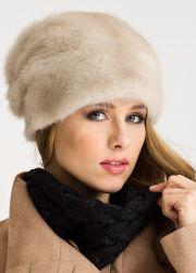 Женские зимние шапки из меха