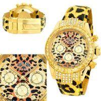 Женские золотые наручные часы