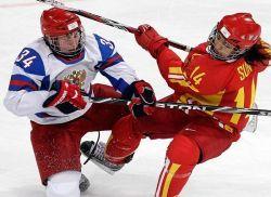женский хоккей с шайбой