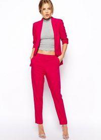Женский нарядный костюм мода 2016 3