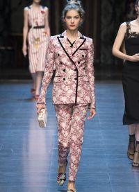 Женский нарядный костюм мода 2016 5