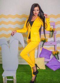 Женский нарядный костюм мода 2016 6