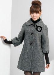Женское драповое пальто 2013