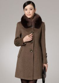 Женское драповое пальто 2013 9