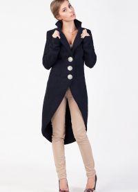 Женское драповое пальто 2013 1