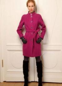 Женское драповое пальто 2013 5