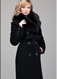 Женское драповое пальто 2013 6