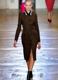 Женское драповое пальто 2013 8