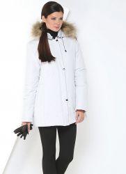 Женское финское зимнее пальто на синтепоне