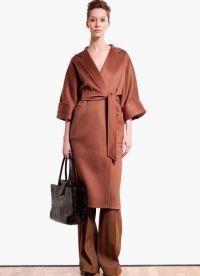 женское кашемировое пальто 2013 1