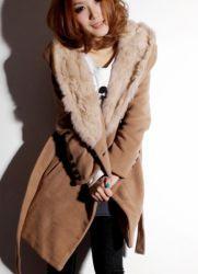 Женское пальто на меху