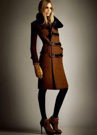 женское пальто осень 2013 5