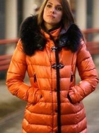 Женское пуховое пальто – италия