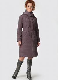 Женское зимнее пальто – холлофайбер