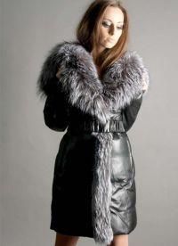Женское зимнее пуховое пальто