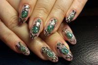жидкие камни на ногтях3