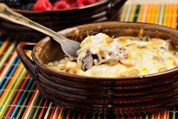 Жульен с грибами в духовке - рецепт