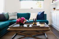 Журнальные столики в интерьере гостиной