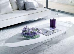 Журнальный овальный столик