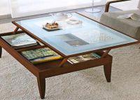 Журнальный стол-трансформер для гостиной3
